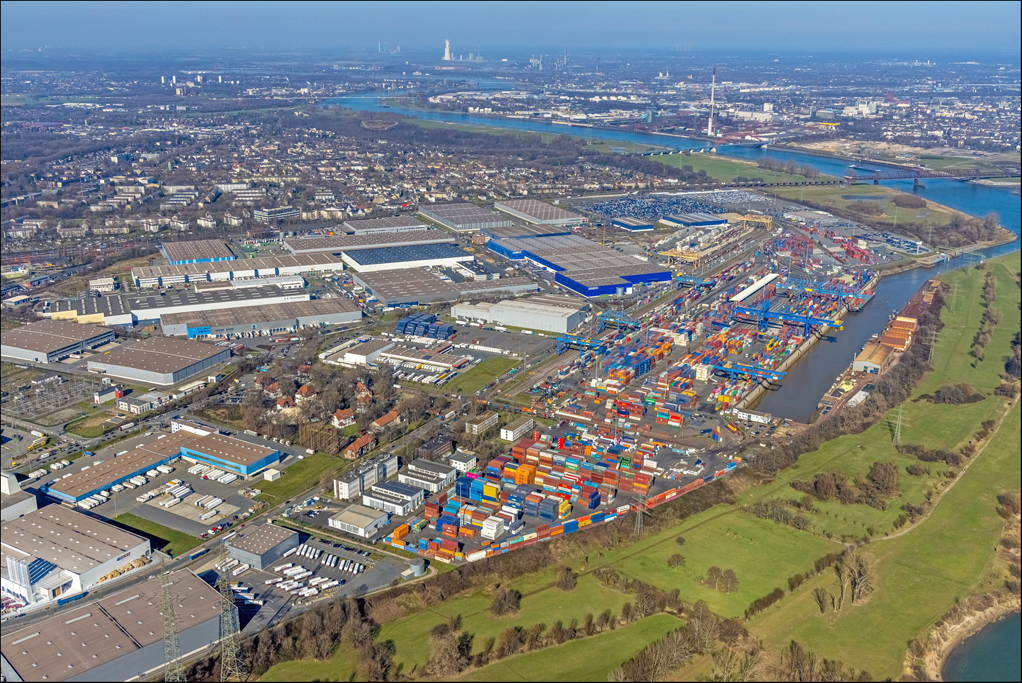 Duisburger Hafen zieht positive Bilanz im Corona-Pandemiejahr