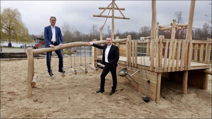 Neues Spielschiff im Sportpark Duisburg
