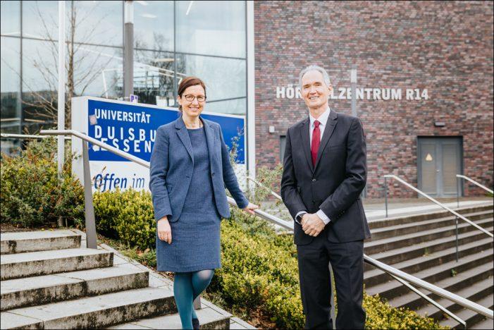 Universität Duisburg-Essen (UDE) wählt neue Leitung: Prof. Barbara Albert wird Rektorin