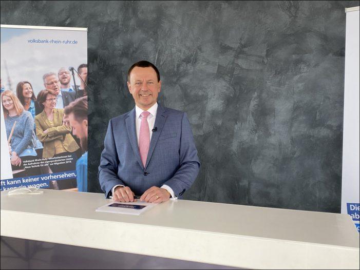 Volksbank Rhein-Ruhr stellte in Duisburg positive Bilanz vor