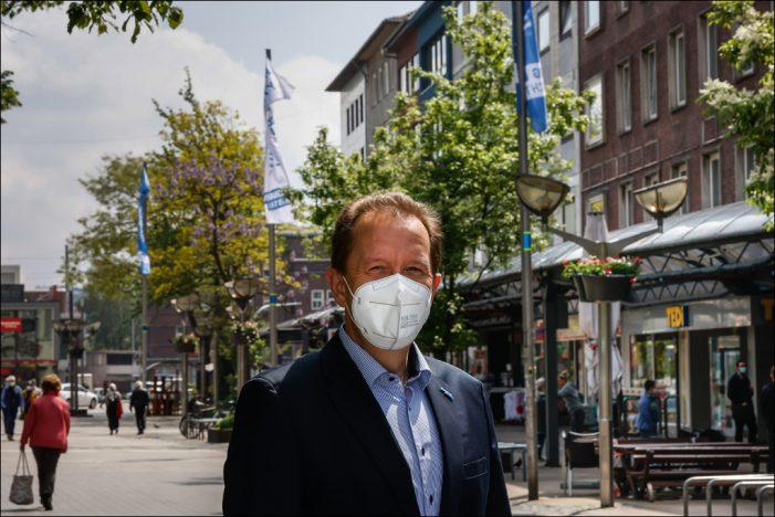 Duisburger Einzelhandel hofft auf Kundschaft: Willkommen in der City