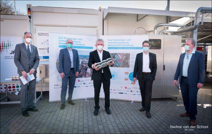 Duisburg wird zum Magnet für die Wasserstoffwirtschaft