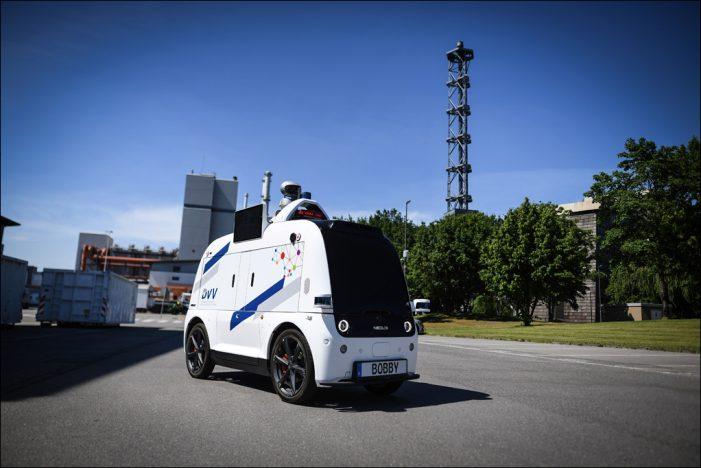Deutschlandpremiere in Duisburg: Autonom fahrendes Sicherheitsfahrzeug im Testbetrieb