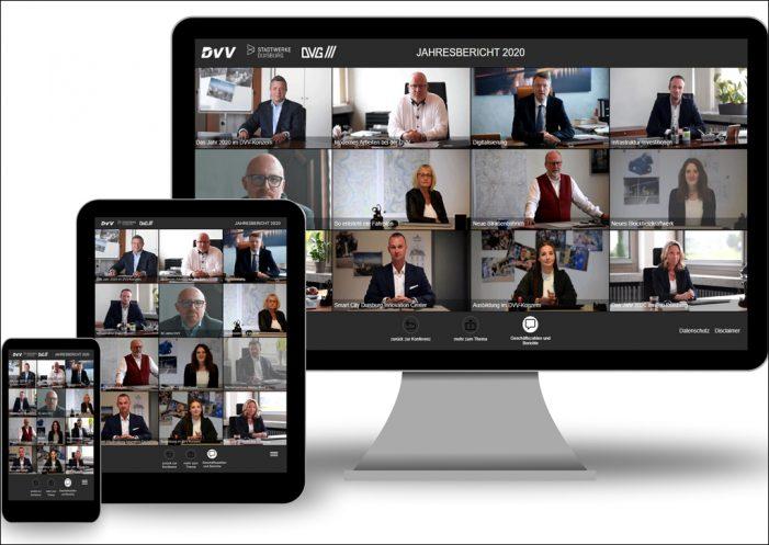 DVV-Jahresbilanz 2020: Konzernumsatz erhöht – digitale Infrastruktur in Duisburg steht im Fokus