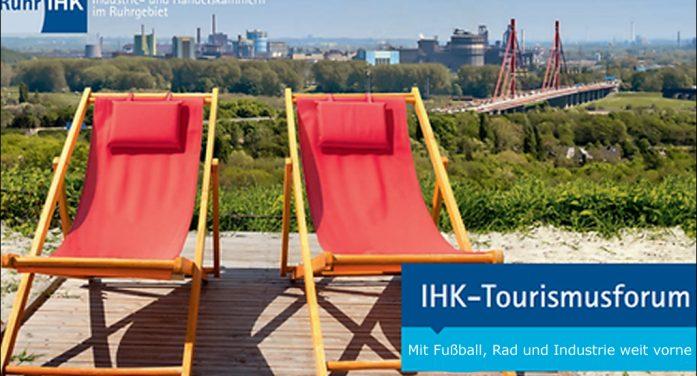 """IHK-Tourismusforum Ruhr mit rund 100 Teilnehmern: """"Mit Fußball, Rad und Industrie weit vorne"""""""