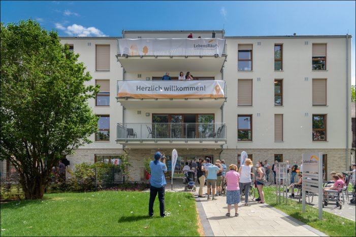 LebensRäume für Menschen in Duisburg gGmbH: Neue Wohnstätte in Hochfeld eröffnet