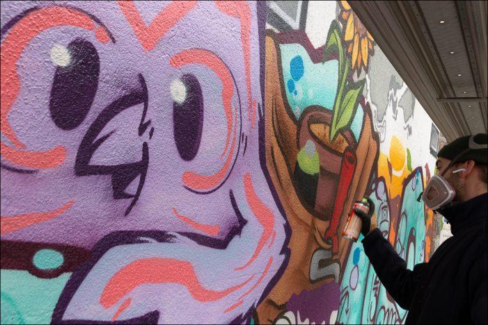 Bürgerstiftung Duisburg: Kreatives Warm up für Heimat-Graffiti