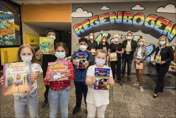 Lions-Club Duisburg-Concordia und Kulturstiftung Selbst.Los! organisieren Bücherspenden für sozial benachteiligte Kinder