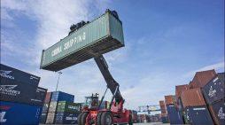 Duisburger Hafen verzeichnet zweistelliges Wachstum im Containerumschlag