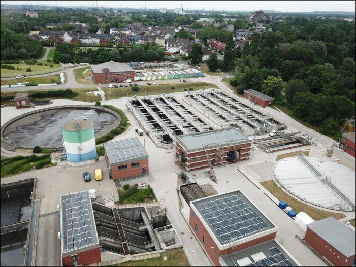 Stadtwerke Duisburg bauen größte innovative KWK-Anlage Deutschlands an einer Kläranlage