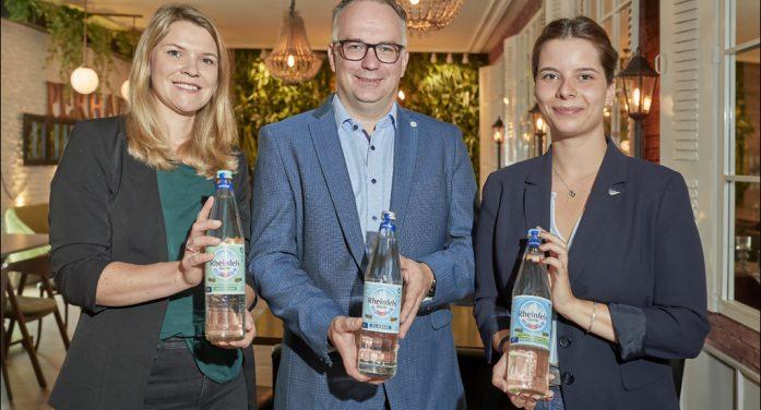 Ausbildung zum Wasser-Sommelier in Duisburg: Rheinfels Quelle freut sich über drei zertifizierte Mineralwasser-Experten