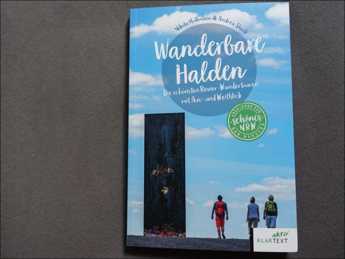"""Büchertipp: """"Wanderbare Halden"""" im Ruhrgebiet aus dem Klartext Verlag"""
