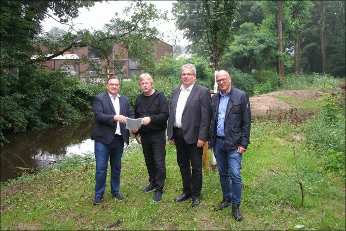 CDU-Ratsfraktion begrüßt Renaturierung des Dickelsbachs in Duisburg-Wedau