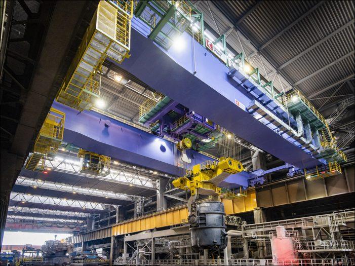 Duisburg: Größtes Stahlwerk von thyssenkrupp nimmt Produktion wieder auf