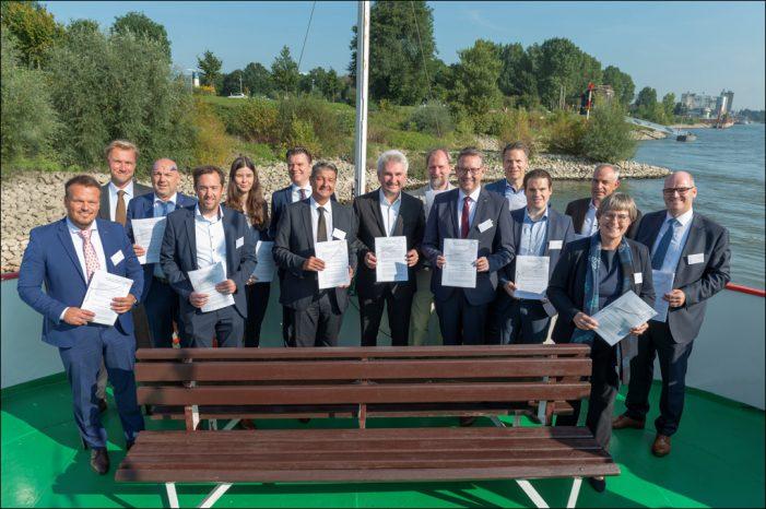 DeltaPort Niederheinhäfen wollen mit Wasserstoff in die klimafreundliche Zukunft