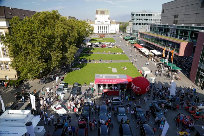 Lack und Chrom am Wochenende 25./26. September 2021 in der Duisburger City