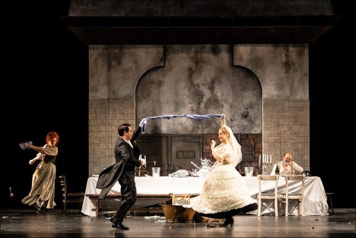 """Deutsche Oper am Rhein: Mieczysław Weinbergs """"Masel Tov! Wir gratulieren!"""" begeisterte im Theater Duisburg"""