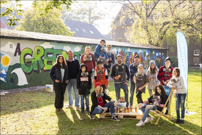 Vonovia in Duisburg-Hüttenheim: Graffiti-Workshop für Jugendliche